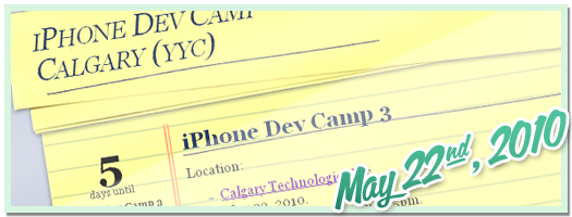 iPhone Dev Camp 3