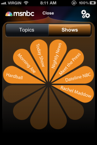 How to build the MSNBC Pinwheel on the iPhone